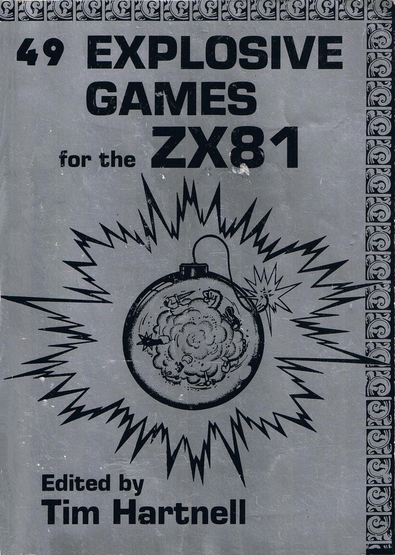49 Explosive Games for the ZX81 cover