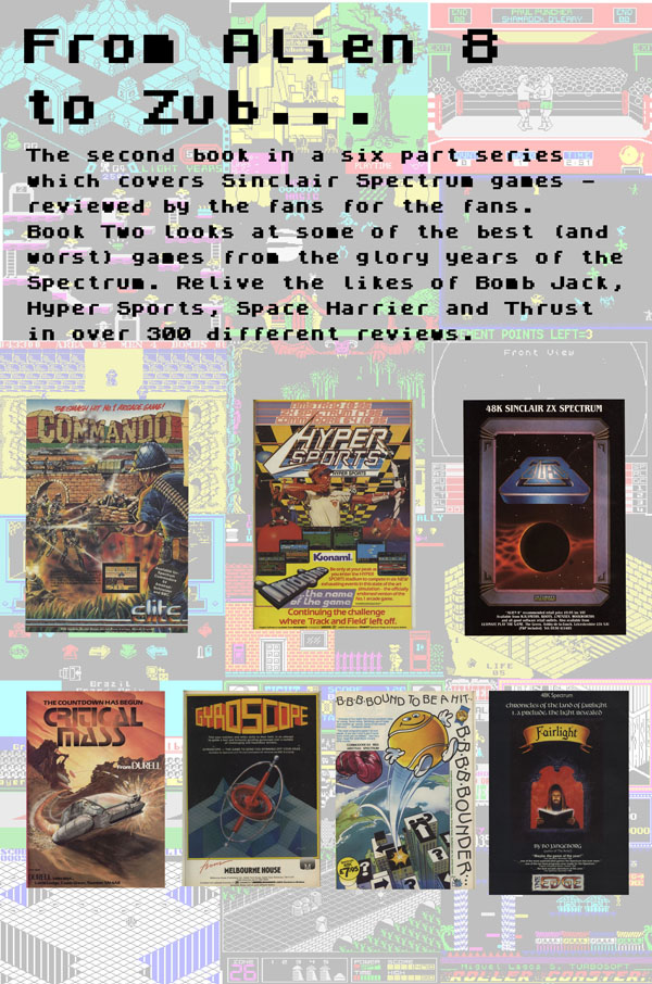 The Spectrum Games Bible 1985-1986 cover